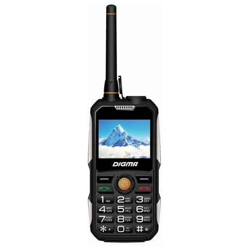 Телефон DIGMA LINX A230WT 2G, черный телефон digma linx a241 black