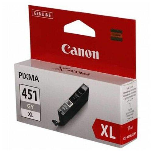 Фото - Картридж Canon CLI-451GY XL (6476B001) картридж canon cli 42gy 6390b001
