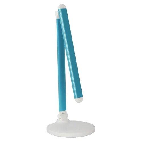 Лампа офисная светодиодная СТАРТ СТ209 синий, 10 Вт, цвет арматуры: белый, цвет плафона/абажура: синий