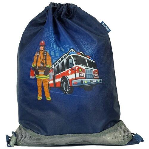 MagTaller Мешок для обуви Firefighter (31216-31) синий недорого