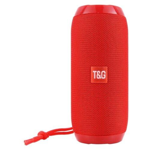 Портативная акустика T&G TG-117 / блютуз колонка (цвет красный)