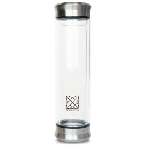 Термокружка SANTAI LIVING Urban Glass, 0.4 л прозрачный