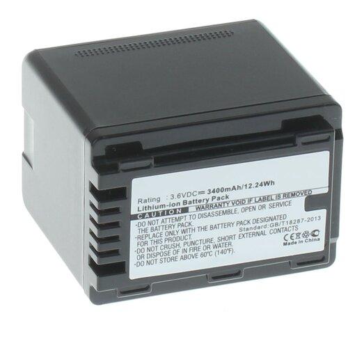Фото - Аккумулятор iBatt iB-U1-F457 3400mAh для Panasonic HC-V770, HC-V760, HC-VXF990, HC-VX980, HC-V260, HC-V380, HC-V730, HC-VX870, HC-V710, HC-W850, HC-V270, HC-V750, HC-V510, HC-V210, HC-V530, HC-W580, HC-V230, видеокамера panasonic hc mdh3e
