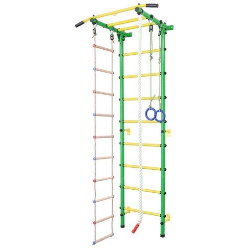 Купить Шведская стенка SportLim DS-12S зелeный, Игровые и спортивные комплексы и горки