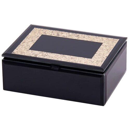 Русские подарки Шкатулка для ювелирных украшений 79215 черный русские подарки шкатулка для ювелирных украшений 79212 белый