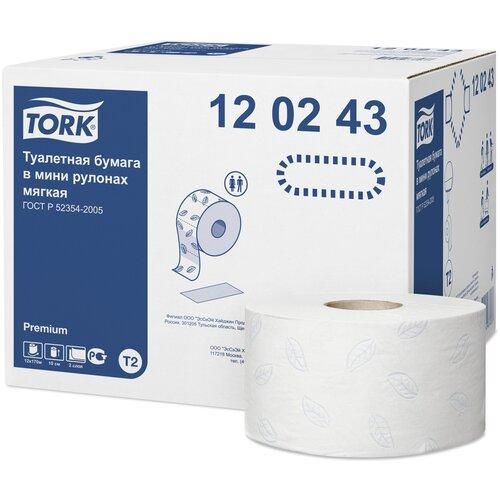 туалетная бумага tork advanced 120231 12 рул Туалетная бумага TORK Premium 120243 12 рул.