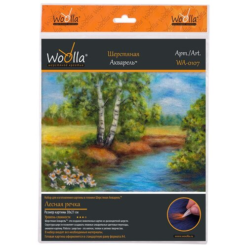 Купить Woolla WA-0107 набор Лесная речка ., Валяние