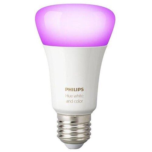 Лампа светодиодная Philips Hue White and Color, E27, A60, 9Вт