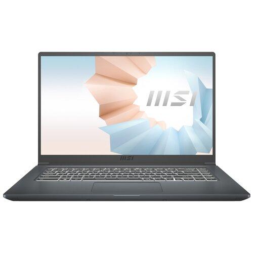 Фото - Ноутбук MSI Modern 15 A11SB-040RU (9S7-155226-040), Carbon Gray ноутбук msi stealth 15ma11sdk 032ru 9s7 156211 032 carbon grey