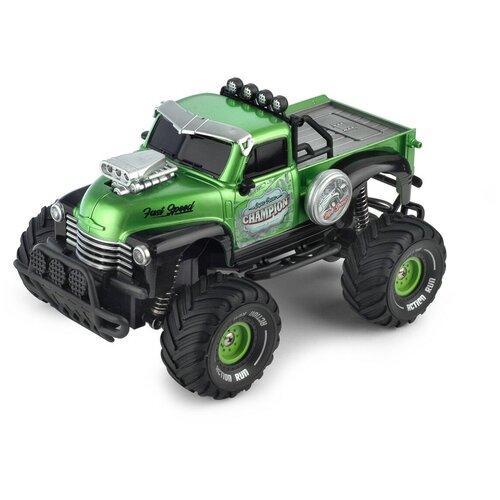 Купить Детская игрушка Yako toys Машинка на пульте управления Пикап, зелёная, машина на радиоуправлении, радиоуправляемая, игрушечная, 1:18; 2, 4G, с зарядным устройством, Радиоуправляемые игрушки