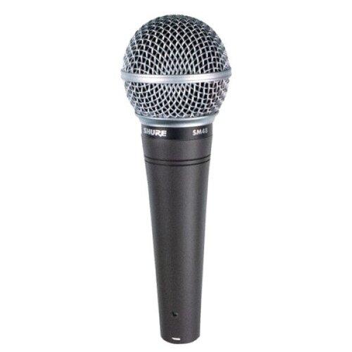 Shure SM48-LC Вокальный кардиоидный динамический микрофон