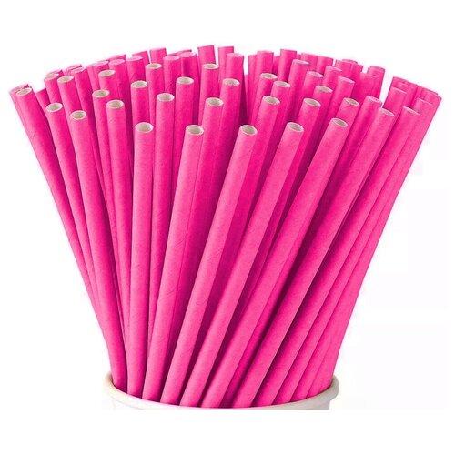 трубочки для коктейлей домашний сундук неоновые 21 см 100 шт Трубочки для коктейлей VIATTO PS-1976S, бумага, 250 шт., 197x6 мм