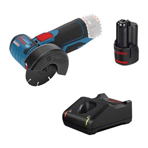 Аккумуляторная угловая шлифмашина Bosch GWS 12V-76, 1x2.0 Aч+GAL 12V-40, картон | 0615990M3E шлифмашина угловая bosch gws 9 125s 0 601 396 122