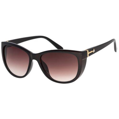 Солнцезащитные очки женские/Очки солнцезащитные женские/Солнечные очки женские/Очки солнечные женские/21kdgaer1202132c2vr коричневый/Vittorio Richi/Кошачий глаз/модные