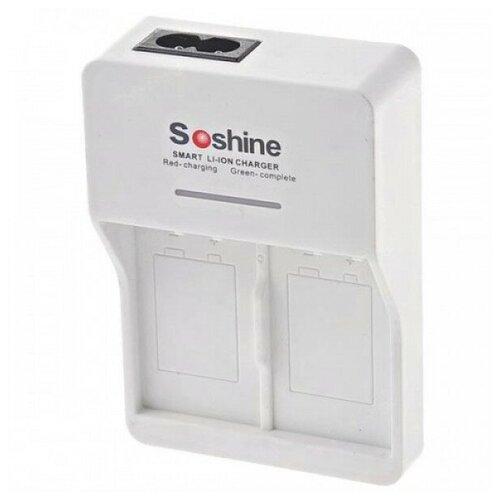Фото - Зарядное устройство для кроны Soshine SC-V1(Fe) аккумулятор ansmann 5022933 05 схожий с olympus fe 150 fe 160 fe 190 fe 20