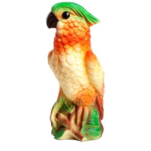Фото - Игрушка для ванной ОГОНЁК Попугай Гоша (С-778) желтый/красный/зеленый игрушка для ванной огонёк утенок с 355 желтый красный
