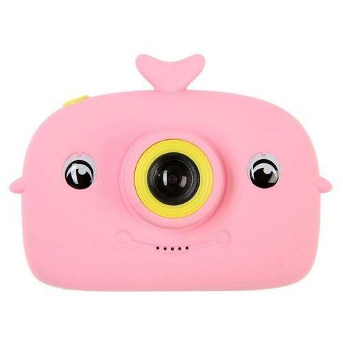 "Фотоаппарат Сима-ленд Didital Camera Whale ""Кит"" розовый"