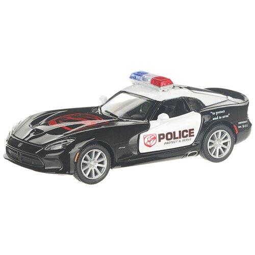 Легковой автомобиль Serinity Toys 2013 Dodge SRT Viper GTS (5363DPKT), 12.5 см, черный 2