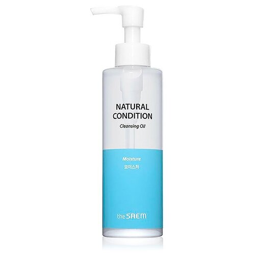Купить The Saem гидрофильное масло для умывания для сухой кожи Natural Condition Moisture Cleansing Oil, 180 мл