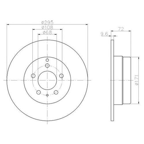 new mass air flow sensor meter maf for 94 98 volvo 850 s70 c70 v70 0280217107 1275749 3507697 12757490 7403507697 7700100572 Тормозной диск Mintex MDC920 для Volvo 850, C70 I, S70, V70 I