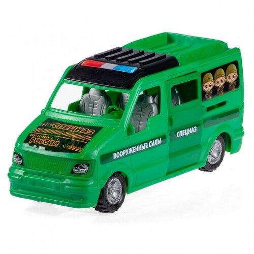 Машинка Юг-Пласт Микроавтобус Спецназ пластик Юг-Пласт