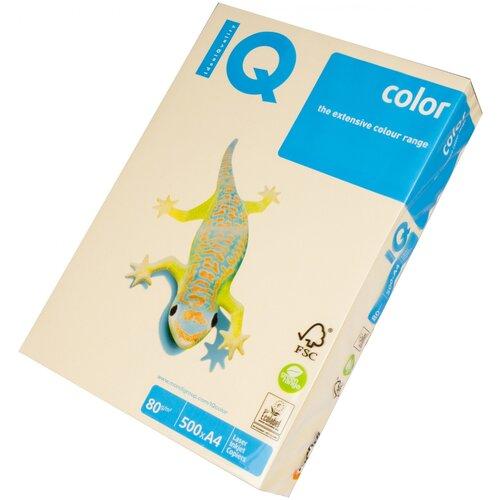 Бумага IQ Color A4 80 г/м² 500 лист. кремовый CR20