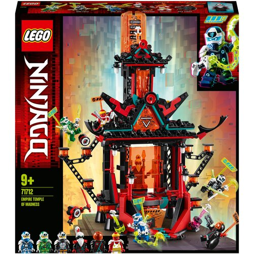 Конструктор LEGO Ninjago 71712 Императорский храм Безумия lego lego ninjago императорский храм безумия