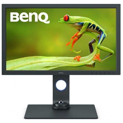 Монитор BenQ SW271C 27, черный монитор benq el2870ue 27 9 серебристый [9h lgtlb fse]