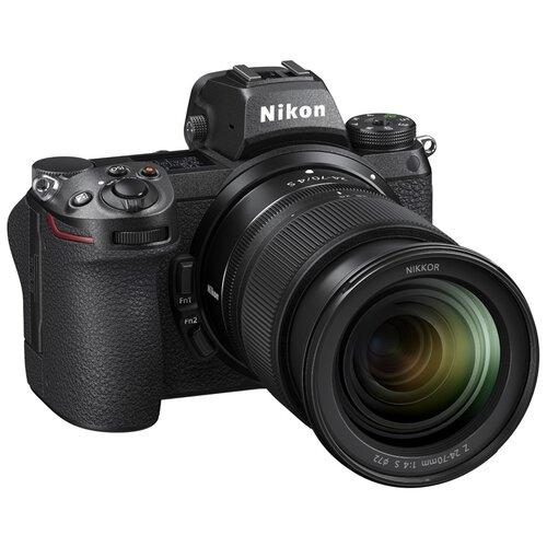 Фото - Фотоаппарат Nikon Z6II Kit черный Nikkor Z 24-70mm f/4S фотоаппарат nikon z5 kit 24 50 f 4 6 3 c адаптером ftz