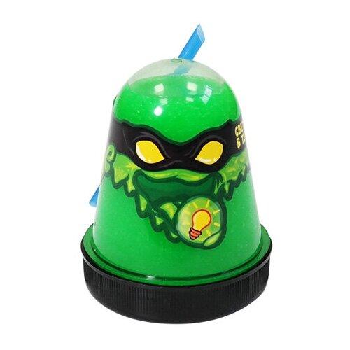 Лизун SLIME Ninja светится в темноте, зеленый, 130 г (S130-18)