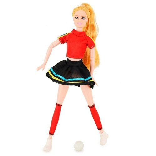 Кукла QIAN JIA TOYS Emily Спортивная красавица, 28 см, HP1110862