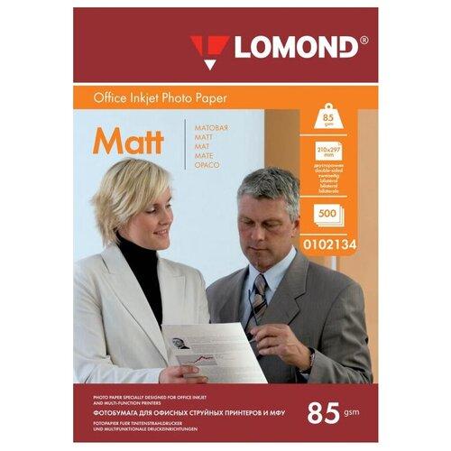Фото - Бумага Lomond A4 0102134 85 г/м² 500 лист., белый бумага lomond a4 0807435 140г м2 50 лист