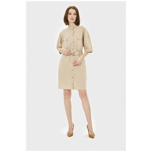 Фото - Платье Baon, размер L, dark beige шорты baon размер xxl 52 dark beige