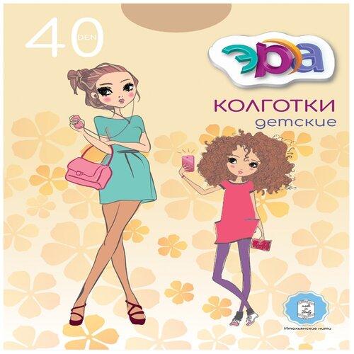 Купить Колготки детские ЭРА Детские 40 (Бежевый, 6-8)