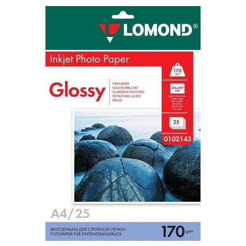 Фото - Бумага Lomond A4 Photo Paper 0102143 170 г/м² 25 лист., белый бумага lomond a4 photo paper 0102003 120 г м² 100 лист белый