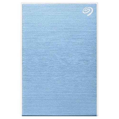 Фото - Внешний HDD Seagate One Touch 2 ТБ, голубой внешний hdd seagate original one touch 1tb stkb1000401 серебристый