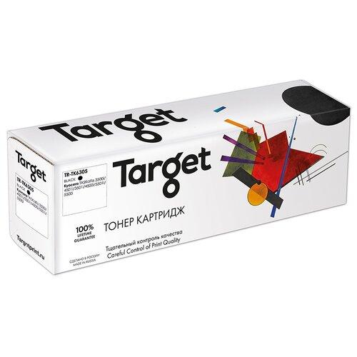 Фото - Тонер-картридж Target TK6305, черный, для лазерного принтера, совместимый тонер картридж target cf230a черный для лазерного принтера совместимый