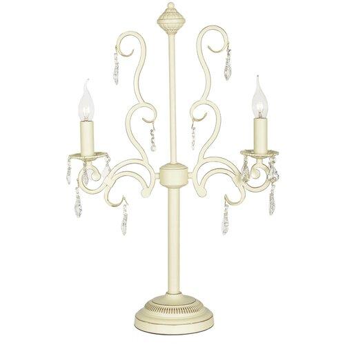 Настольная лампа Arti Lampadari Gioia E 4.2.602 CG, 80 Вт настольная лампа arti lampadari bernalda e 4 1 s 60 вт