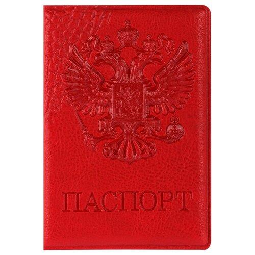 Обложка для паспорта OfficeSpace Герб, красный