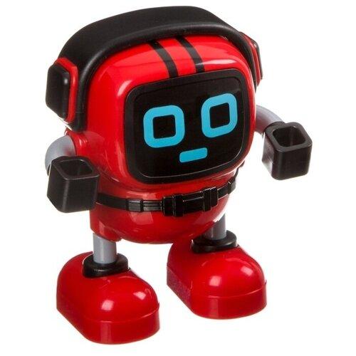 Купить Робот BONDIBON Робот-волчок с гироскопом и пусковым шнуром BB4245 красный, Роботы и трансформеры