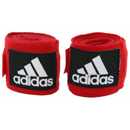 Кистевые бинты adidas Boxing Crepe Bandage 450 см красный