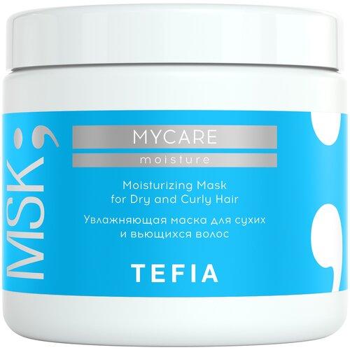 Фото - Tefia MyCare Moisture Маска увлажняющая для сухих и вьющихся волос, 500 мл medius двойная маска увлажняющая moisture focus 25 мл
