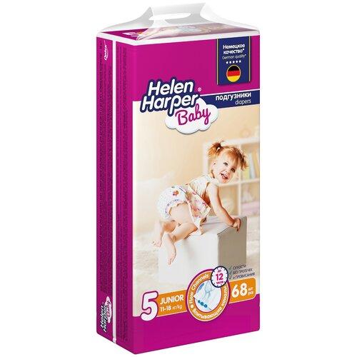 Купить Helen Harper подгузники Baby 5 (11-25 кг), 68 шт., Подгузники