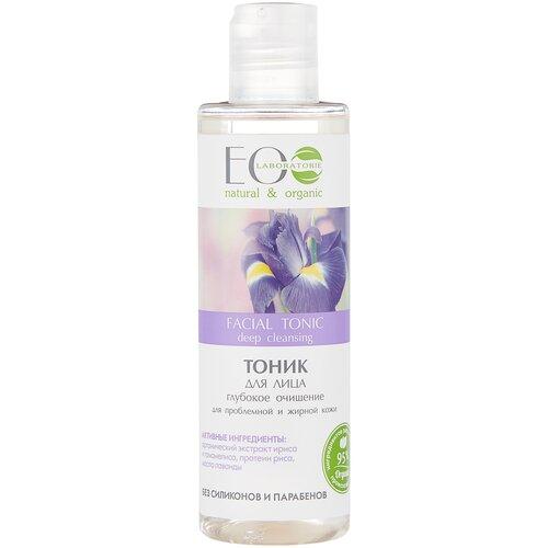 Купить ECO Laboratorie Тоник для лица Глубокое очищение для проблемной и жирной кожи, 200 мл