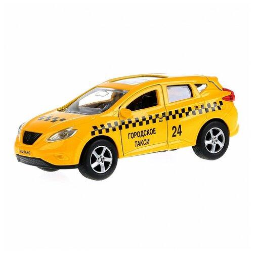 Фото - Машина Технопарк Nissan Murano Такси инерционная 258738 машина технопарк chevrolet tahoe инерционная 280925