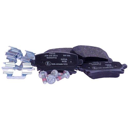 Дисковые тормозные колодки задние VOLKSWAGEN JZW698451D для Volkswagen, Audi, Skoda, SEAT (4 шт.) printio volkswagen