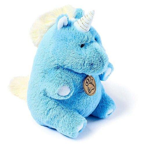 Мягкая игрушка Lapkin Единорог голубой 22 см