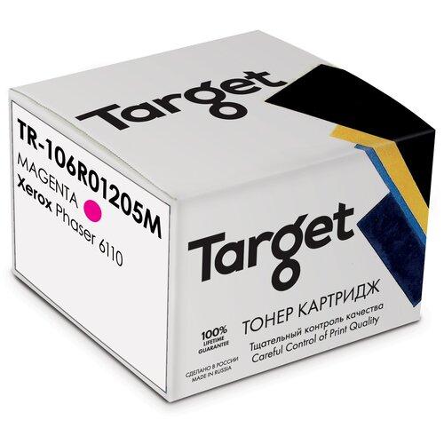 Фото - Картридж Target 106R01205M, пурпурный, для лазерного принтера, совместимый картридж target 106r02607m пурпурный для лазерного принтера совместимый