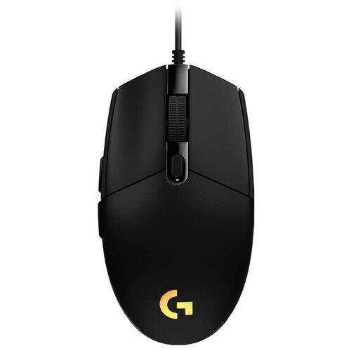 Мышь Logitech G G102 Lightsync, черный мышь logitech g g604 black wireless черный
