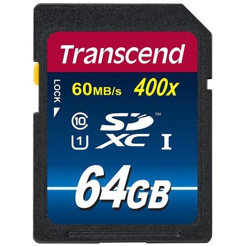 Фото - Карта памяти Transcend TS*SDU1 400x 64 GB, чтение: 60 MB/s карта памяти 32gb transcend cf 400x